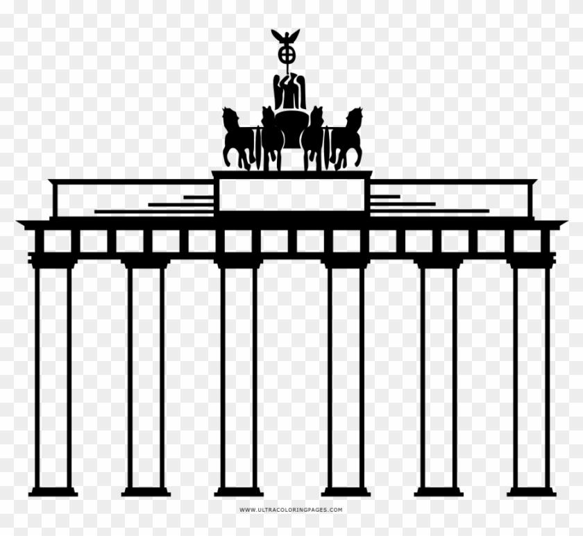 Brandenburger Tor Ausmalbilder - Happy Diwali Clip Art - Free ...