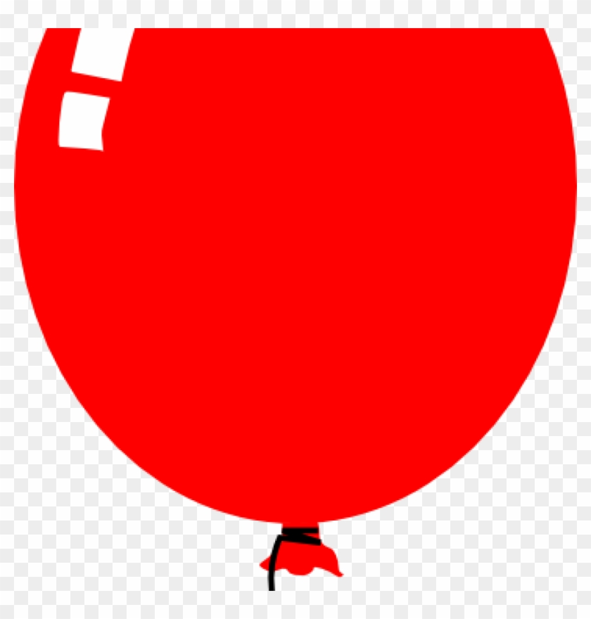 Red Balloon Clipart Red Balloon Clip Art At Clker Vector - Balloon Clip Art #190438