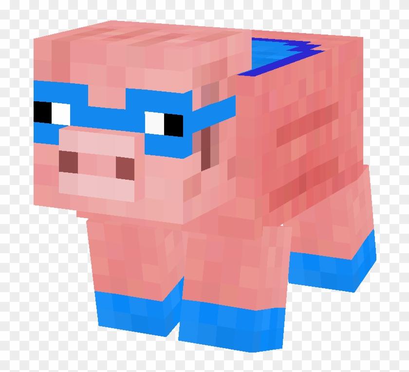 Minecraft Clipart Piggy Minecraft Skin Super Pig Free