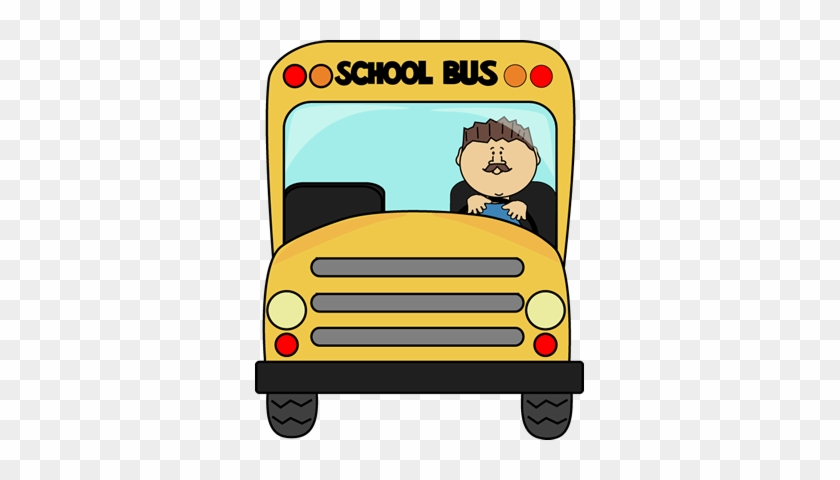 School Bus Driver Clip Art Image Yellow School Bus - School Bus Stay Seated #190654