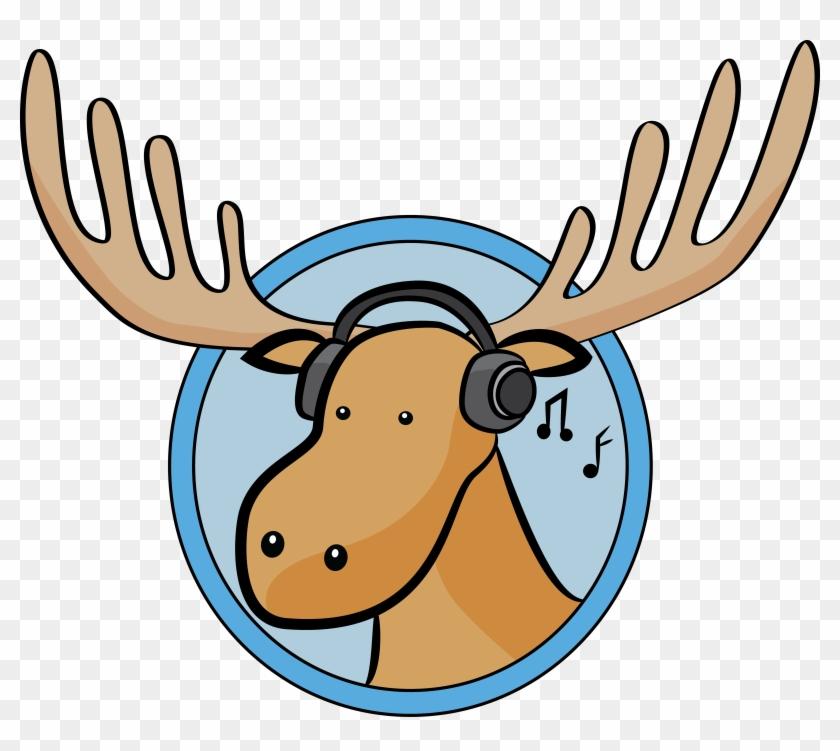 Wwvu Moose - Cartoon Moose #190868