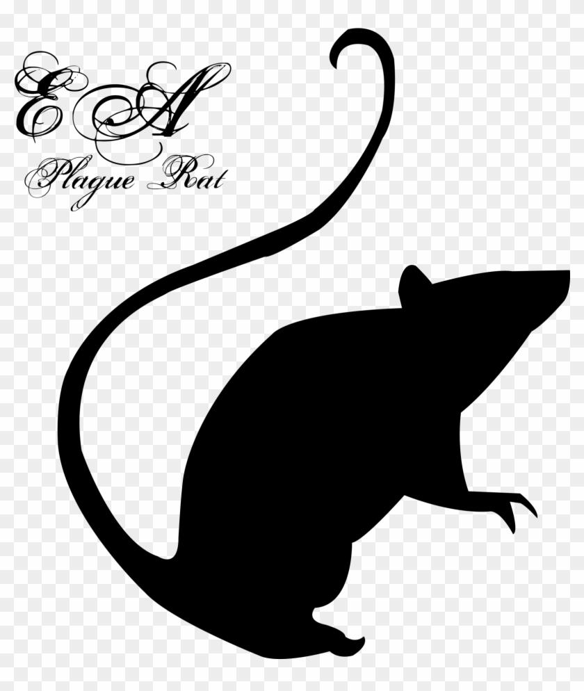 Rat Clip Art - Emilie Autumn Plague Rat #190917