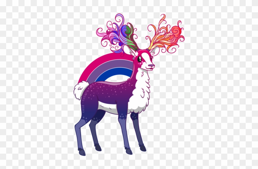 A Lovely Valid Bisexual Deer Has Been Spotted He's - Bisexual Oh Deer I M Queer #191176