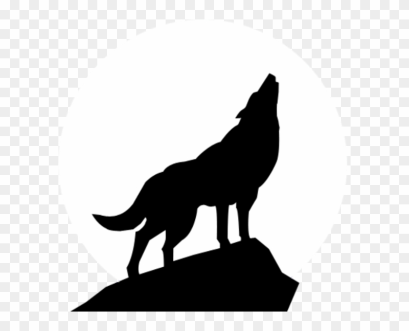 Wolf Howl Paper Draw Art