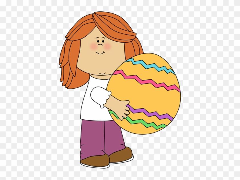 Easter Egg Hunt Clipart - Kids Easter Clip Art #191256