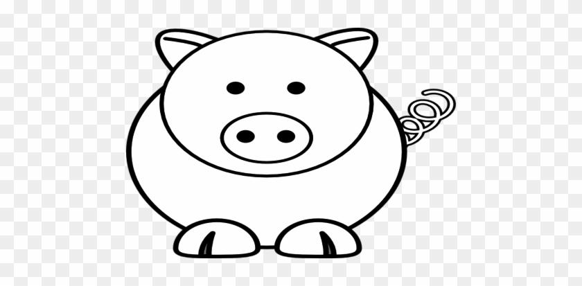 Cartoon Sheep Pig Clip Art At Vector Online - Easy Pig Face Drawing #191443