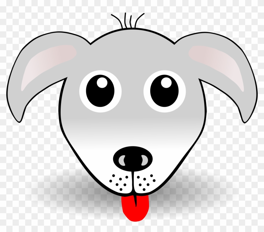 Free Vector Funny Dog Face Grey Cartoon Dog Face Cartoon Free Transparent Png Clipart Images Download