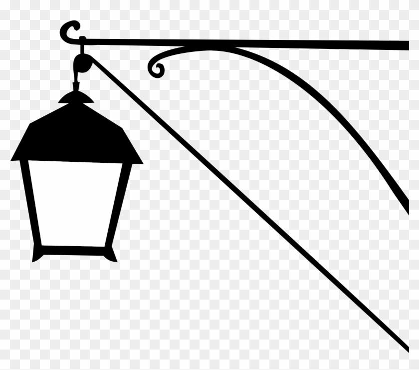 Lamp Clipart Silhouette - Street #191674
