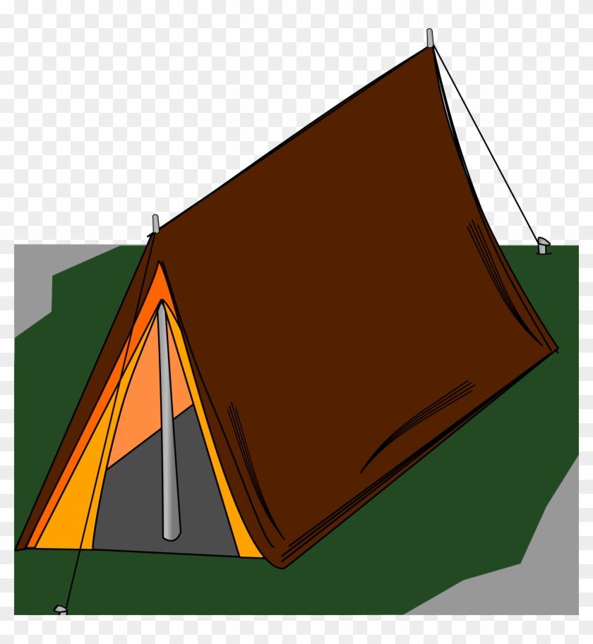 Big Image - Camping Clip Art Tent #192092