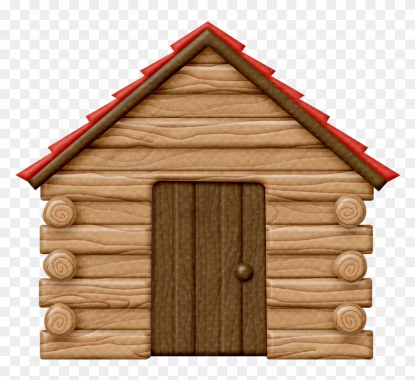 Lliella Happycampers Logcabin Png Log Cabins Clip Art - Clip Art Log Cabin #192112