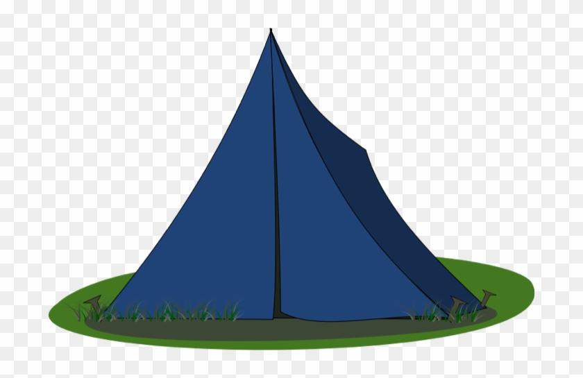 Blue Ridge Tent Svg Vector File, Vector Clip Art Svg - Camping Tent Clipart #192159
