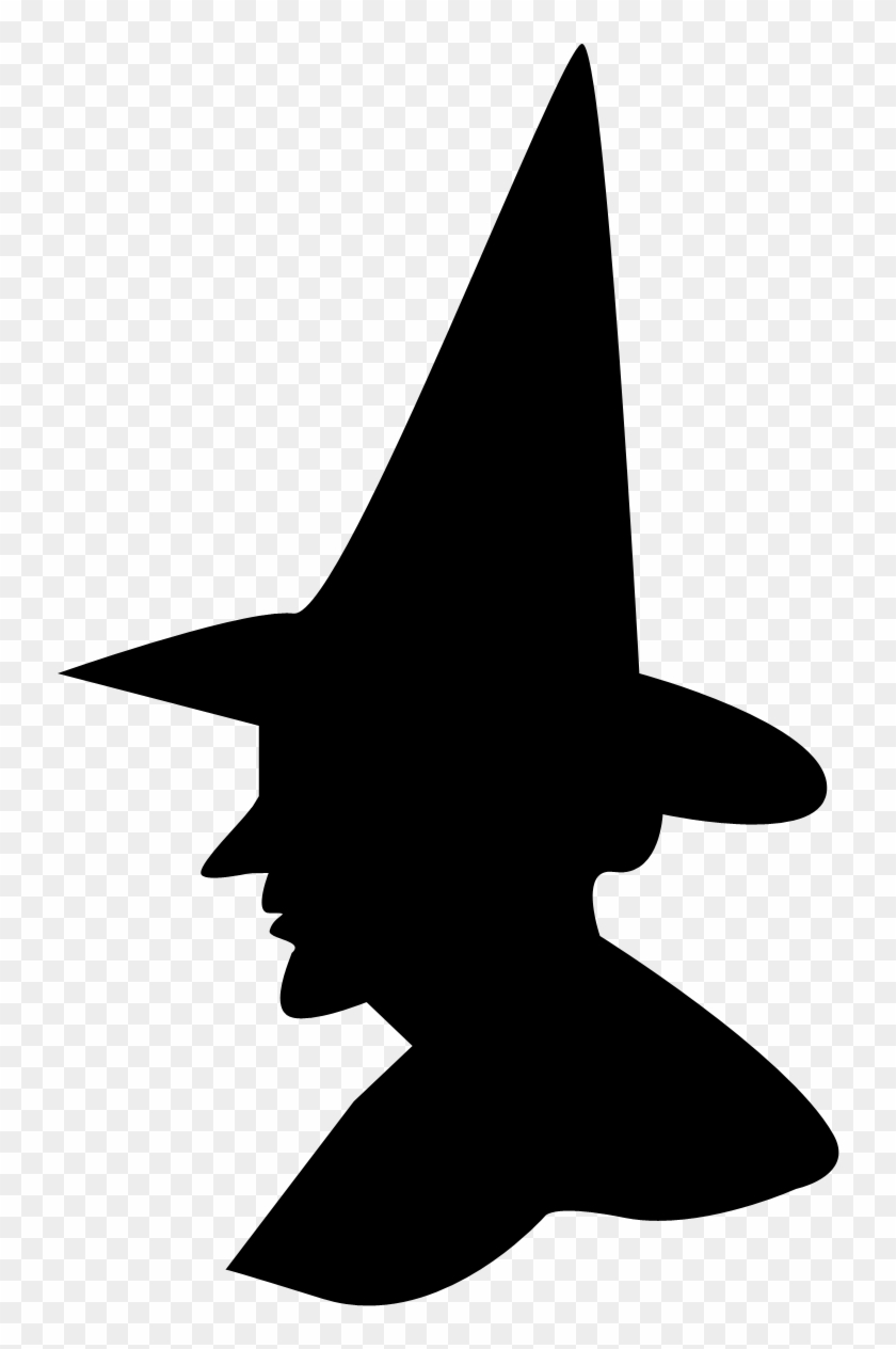 Free Witch Silhouette Tags Clipart Silhouette Of A Witch