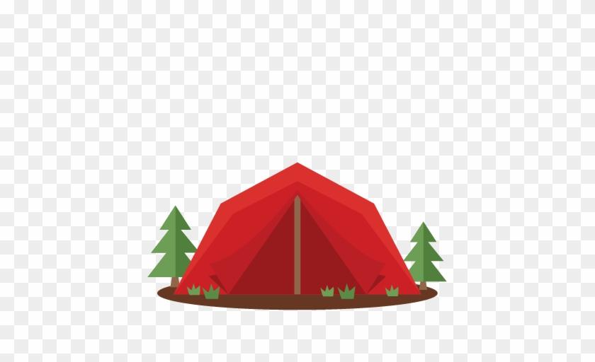 Tent Clip Art - Camping Tent Clipart Png #192239