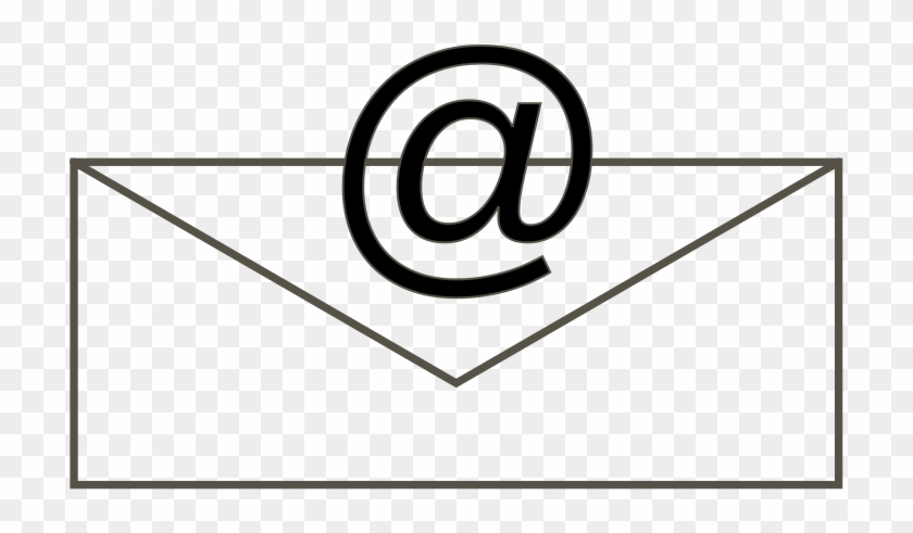 Free Clipart - Email Clipart Black And White #192510