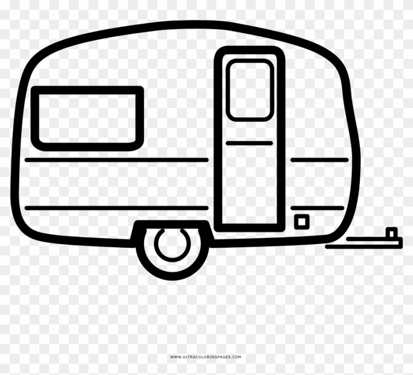 Rv Trailer Coloring Page Ultra Coloring Pages Trailer Para