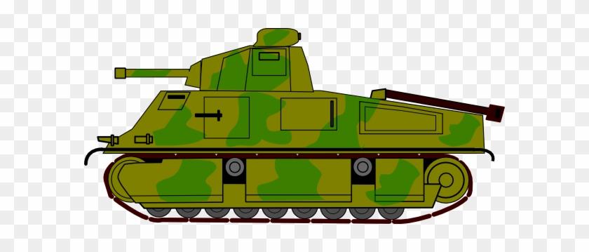Military Tank Clip Art At Clker - Army Truck Clip Art #192599