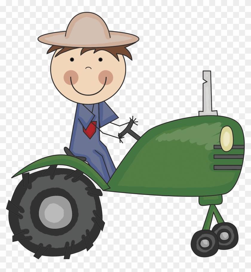 Farmer Tractor - My Favorite Farm Animal #192796