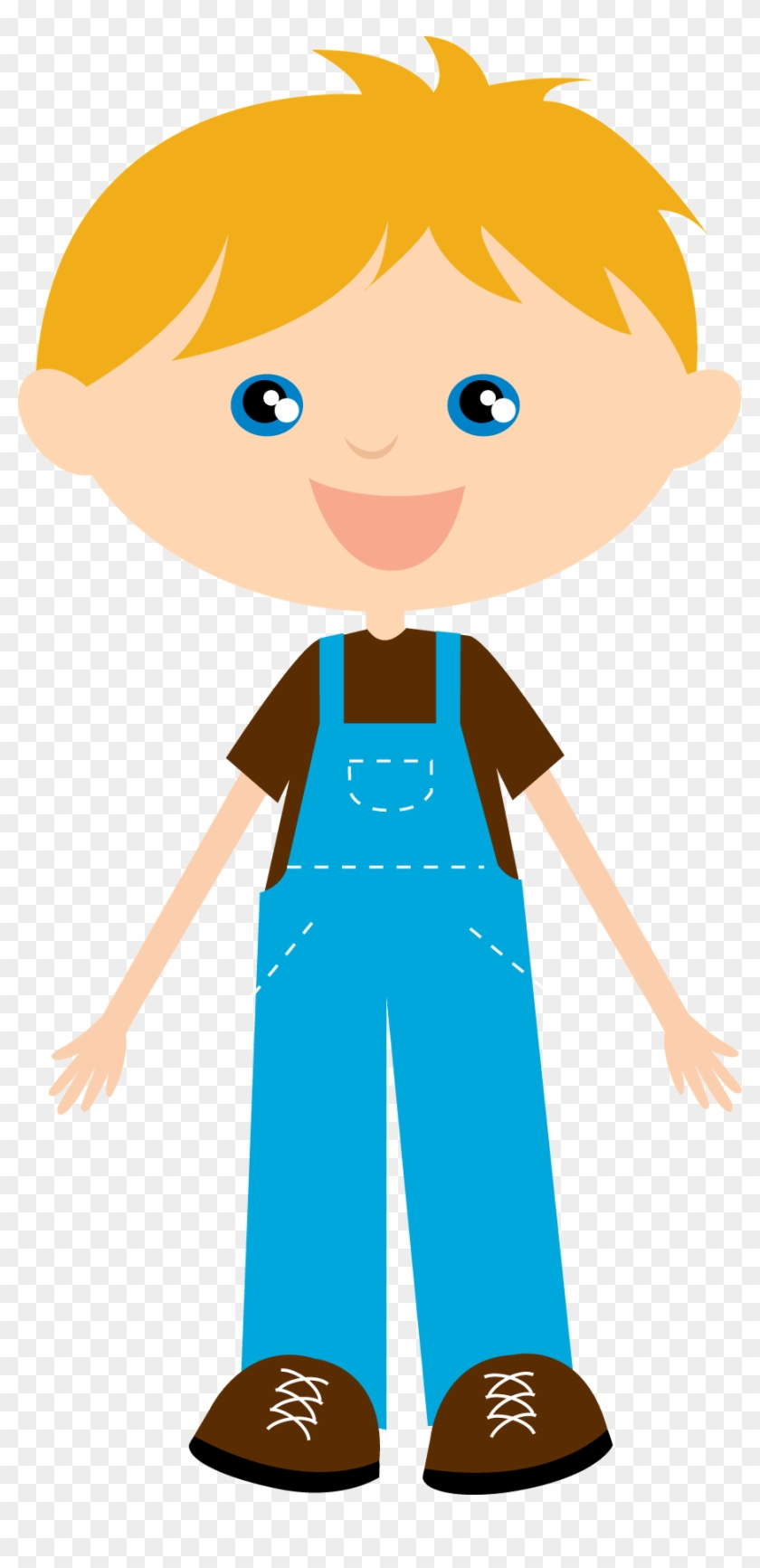 Clip Art-country Time - Little Boy Clipart #192813