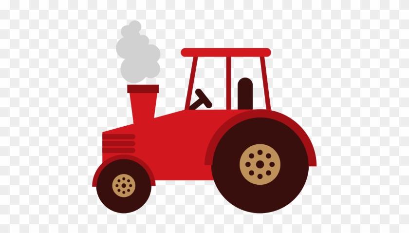 Tractor - Forklift Vector #192828