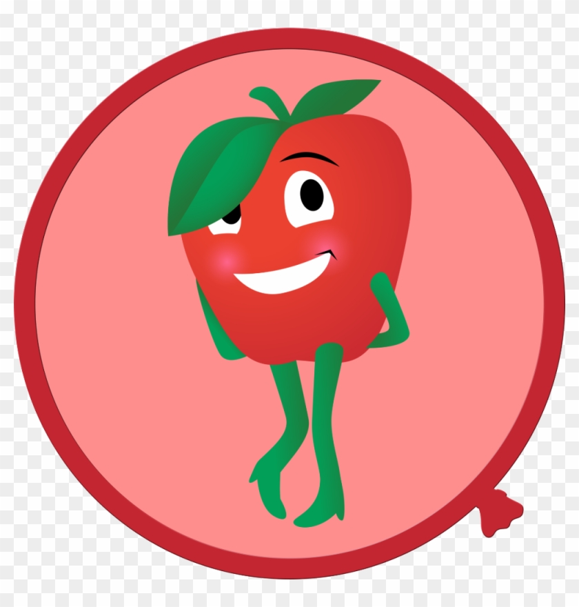 Cartoon Fruit And Vegetable Wall Decals - Wall Decal #193092