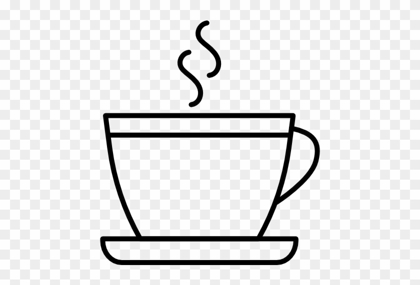 Coffee Cup Outline Png Free Transparent Png Clipart Images Download