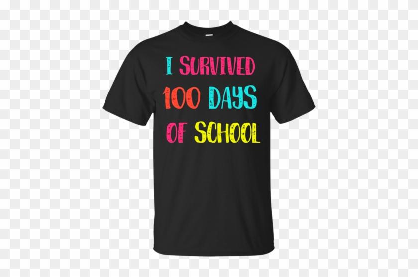 I Survived A 100 Days Of School Teacher T Shirt For - Teacher Shirts #1144971