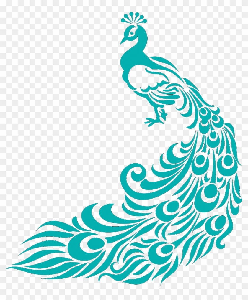 Peacock Designs For Fabric Painting Border Design For Assignment Free Transparent Png Clipart Images Download