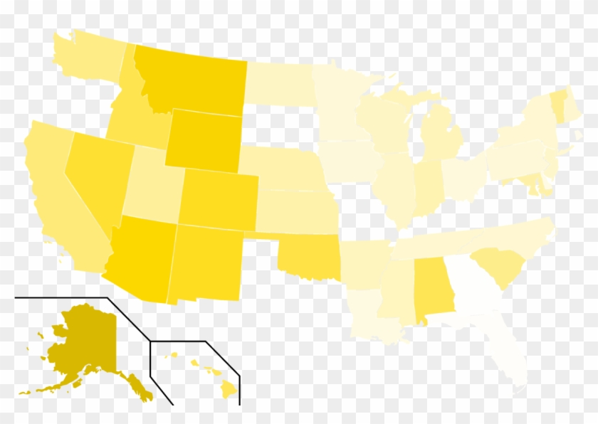 Libertarian Party Presidential Election Results, 1984 - Map - Free ...