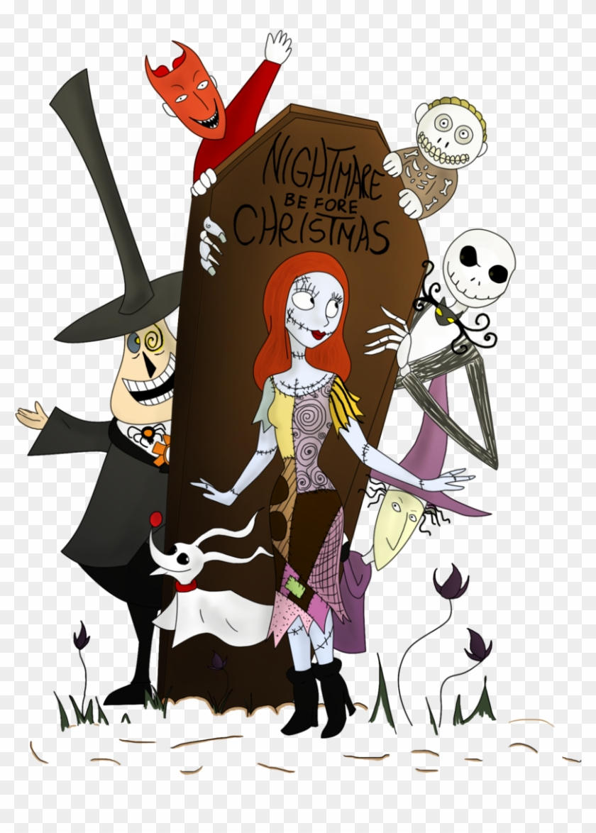 Free Clip Arts - Nightmare Before Christmas Characters Clipart ...