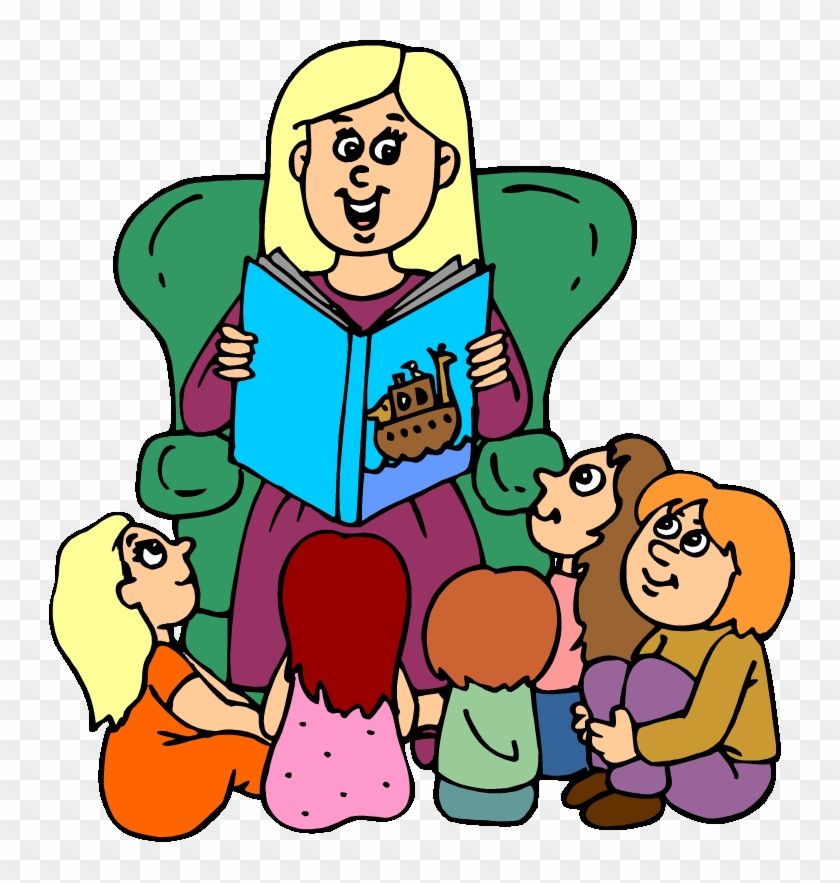 Student Story Clipart - Story Telling Clipart - Free Transparent ...