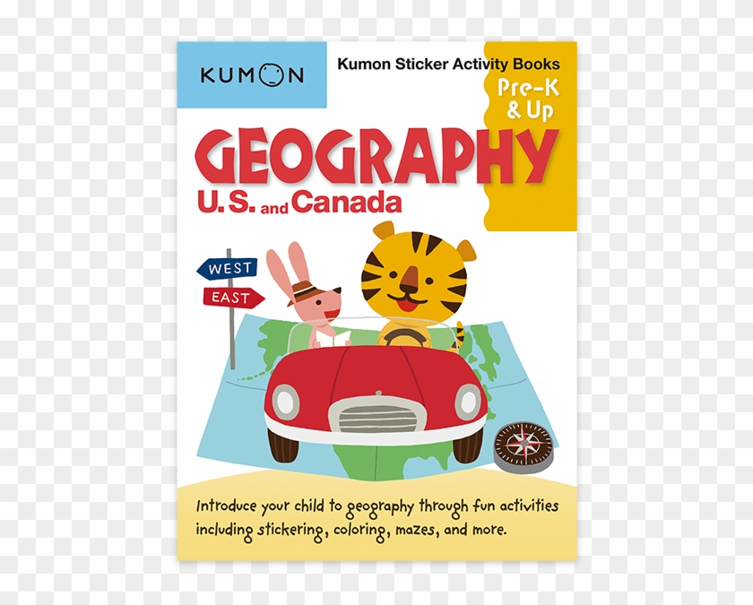 Geography Usa & Canada Sticker Book - Geography Educational