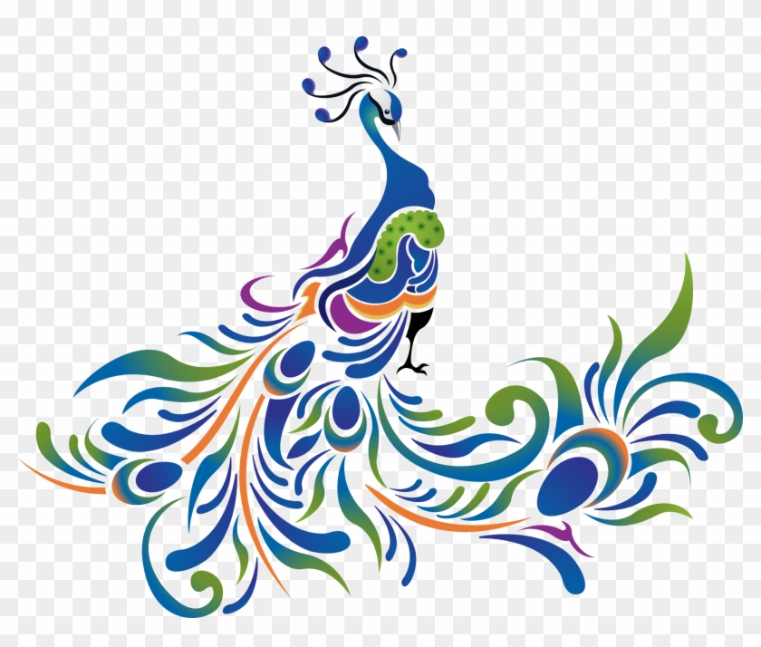 vector cartoon peacock blue cartoon peacock free transparent png clipart images download vector cartoon peacock blue cartoon