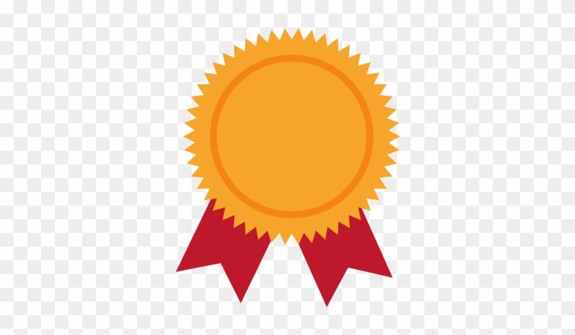 Award Ribbon Winner Vector Graphic Icon - Award Ribbon Icon #1148462