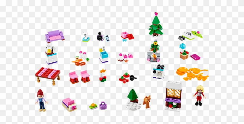 Explore Product Details And Fan Reviews For Lego® Friends - Lego Friends Advent Calendar #1148914