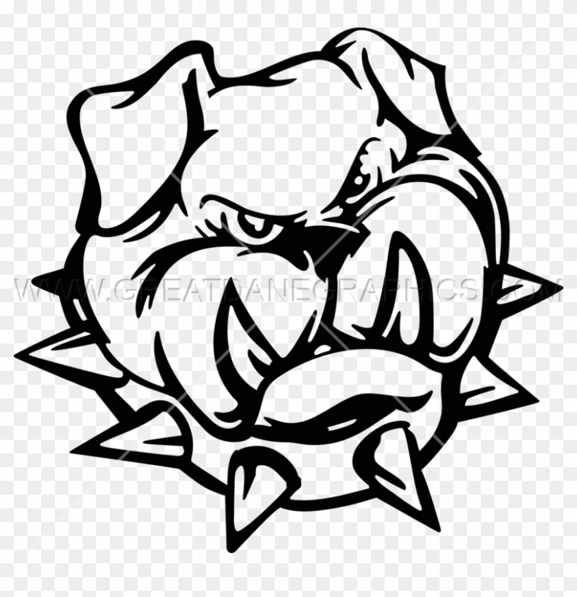 Spike Bulldog Head