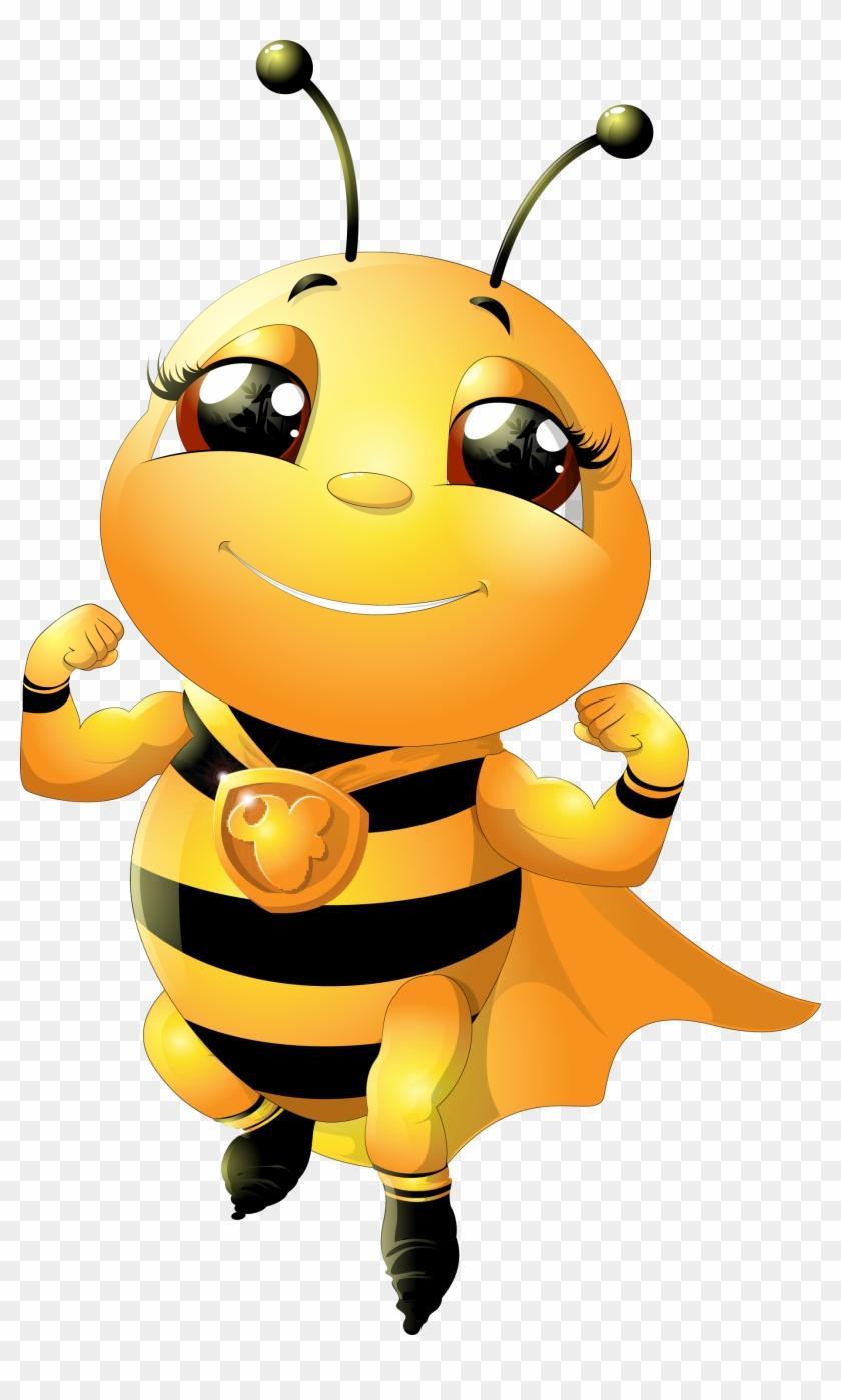 Bumblebee Cartoon Honey Bee - Bees Cartoon - Free ...