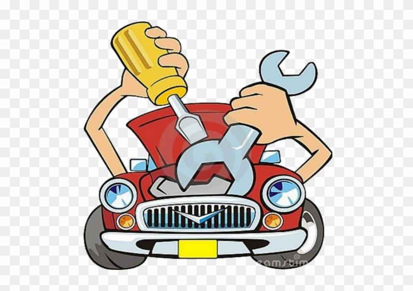 Auto Mechanic - Auto Repair Clip Art #1150481