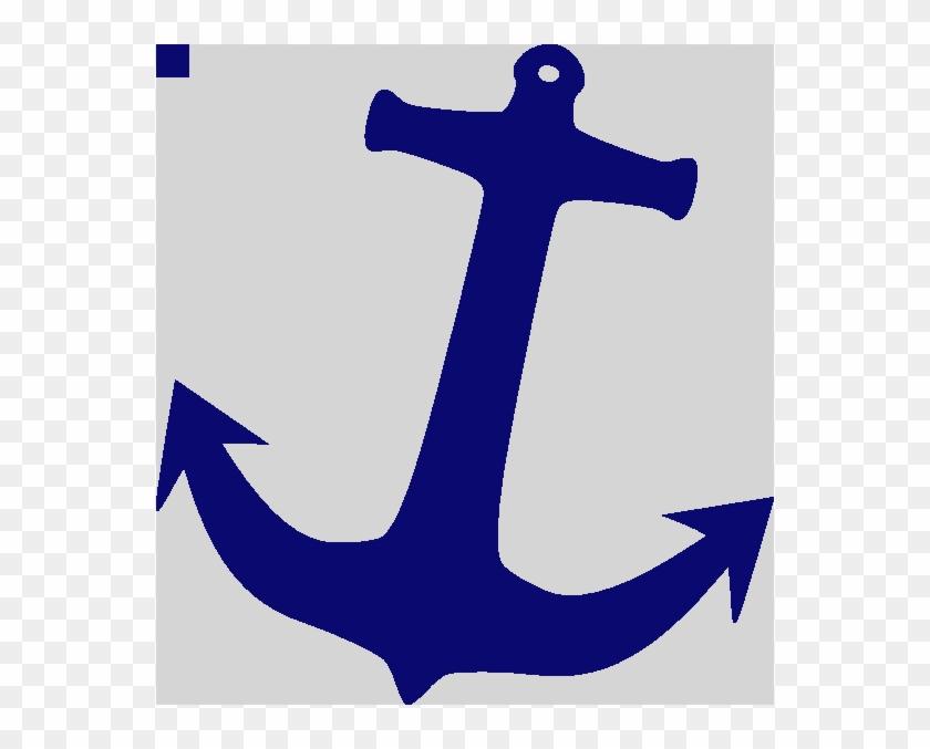 Anchor Clip Art At Clker Anchor Clipart Png - Nautical Anchor Clipart #1150577