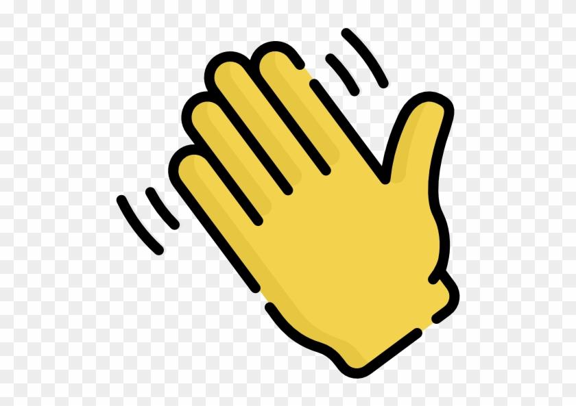 hand waving clipart - 840×593