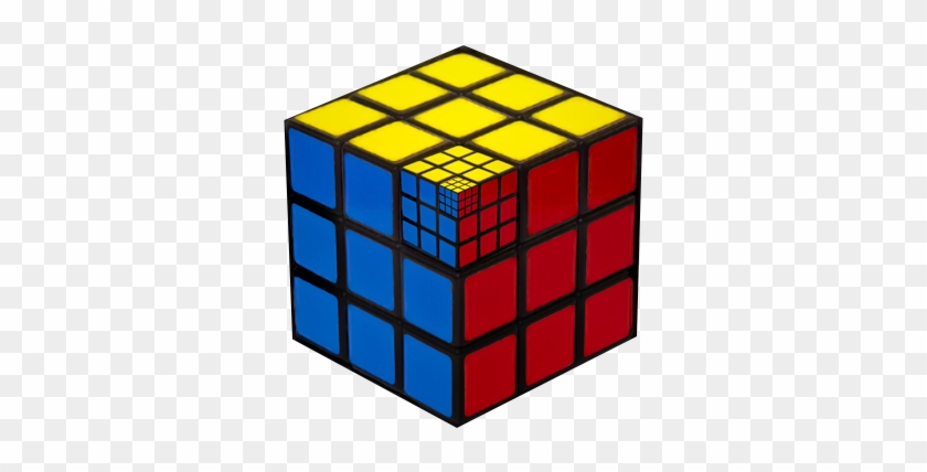 #fractal #rubikscube - Rubik's Cube Before And After #1150871