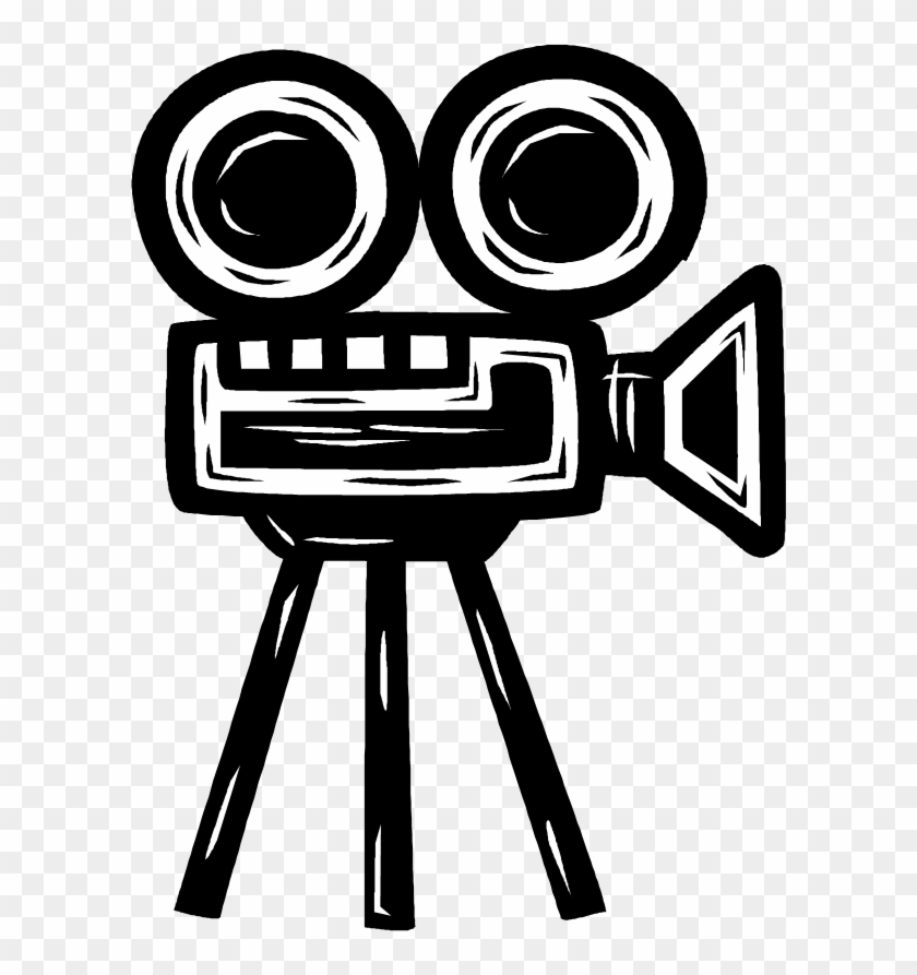 Movie Camera Drawing At Getdrawings - Old Film Projector Png #1151122