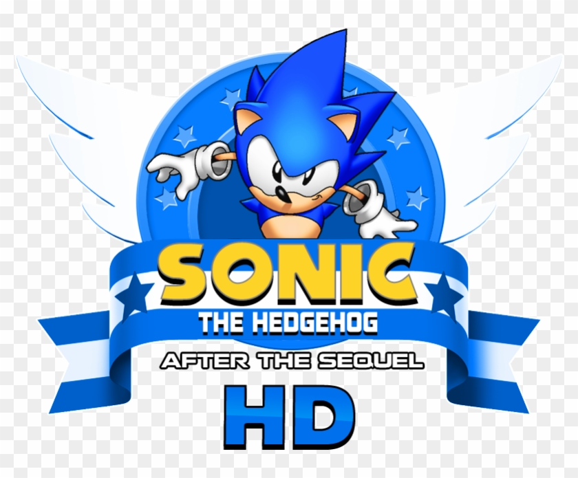 Sonic After The Sequel Fan Game Logo Remade Hd By Nuryrush Sonic The Hedgehog 4 Episode Lll Free Transparent Png Clipart Images Download
