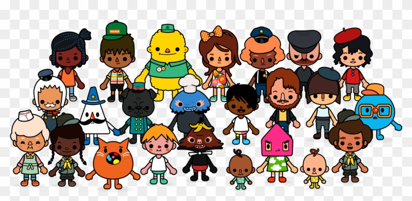 Toca Life - Town - - Toca Life Town Characters #1151872