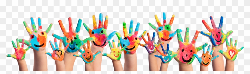 Pre-school Is To Provide An Academic, Social And Christian - Paint Hands #1152178