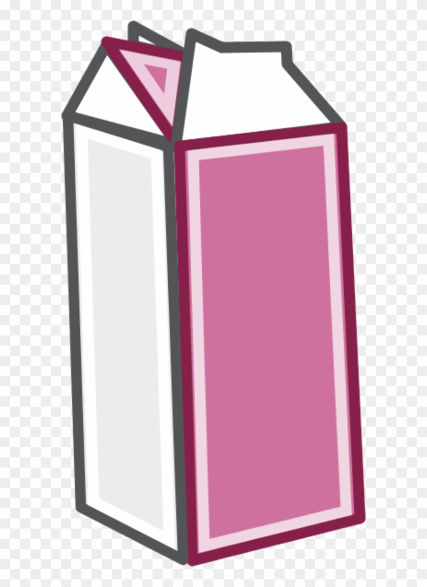Color Variation D - Cartoon Milk Carton - Free Transparent PNG ...