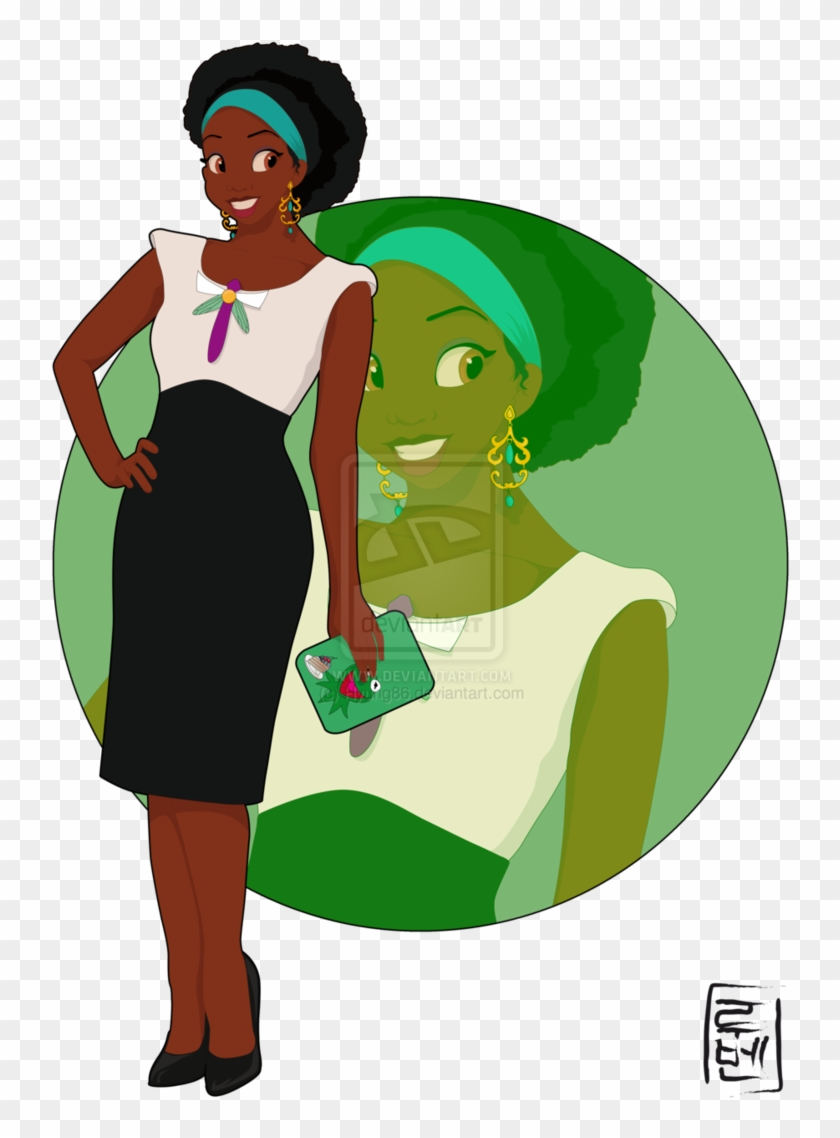 8b489a2f2b Tiana By  hyung86 On Deviantart - Princess And The Frog Characters  1154026