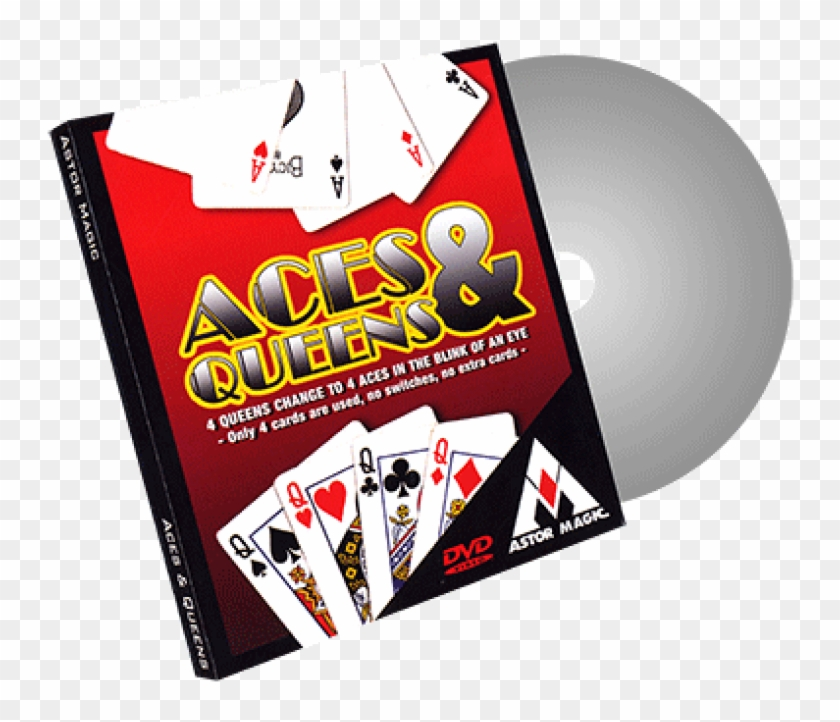 New Style Aces And Queens Cards Color Varies By Astor - Aces And Queens (cards Color Varies) By Astor - Trick #1154070