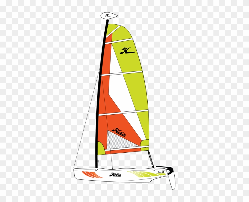 hobie wave sailboat different types of one person sailboats free