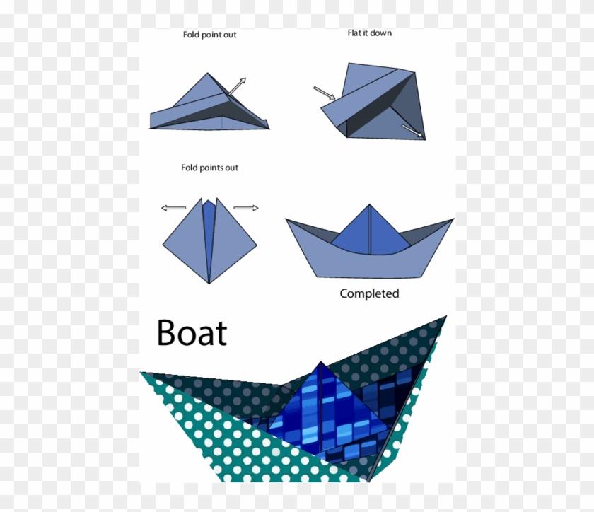 Massive Origami Boat Floats Down the Thames « Origami :: WonderHowTo | 724x840