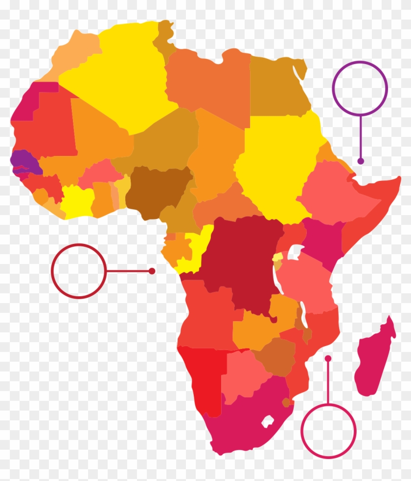 Sub-saharan Africa Russia 2018 Fifa World Cup African - Learn The Countries Of Africa #1155456